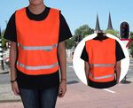 Custom Youth Orange Safety Vest
