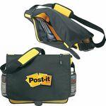 Custom Deluxe Messenger Bag w/2 Mesh Pockets (Blank)