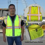 Custom Deluxe Surveyor Safety Vest ANSI Class 2