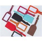 Custom Leather Luggage Tag