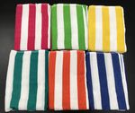 Custom Promotional weight Cabana stripe Beach Towels 27
