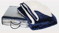 "Micro Mink Sherpa Blankets 50""x60"""