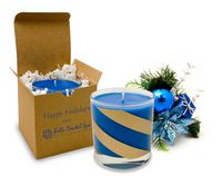 11 Oz. Vanilla Spice Hanukkah Candle - Frosted Tumbler