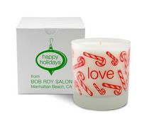 11 Oz. Love Holiday Candle - Frosted Tumbler