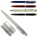 Custom 3-In-1 Ballpoint Pen with Laser Pointer & LED Flashlight