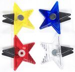 Custom Jumbo Size Star Magnetic Memo Clip with Strong Grip