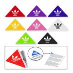 Triangle Shape Memo Clip Holder