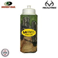 Mossy Oak or Realtree Camo Premium 32 Oz. Foam Insulated Sports Squirt Bottles