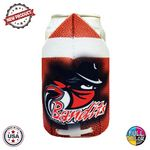 Custom Premium Full Color Dye Sublimation Collapsible Foam Football Laces Out Coolie