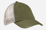 Custom Hemp Washed Soft Mesh Trucker Hat