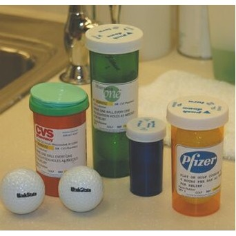 2 Golf Ball Prescription Pack