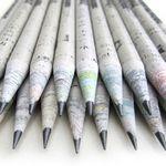 TreeSmart® Recycled Newspaper Pencil