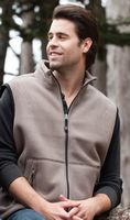 Woodland Bonded Sherpa Fleece Vest
