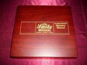 Cherry Keepsake Box With Wood Top