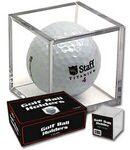 Custom Acrylic Golf Ball Display Case-Single