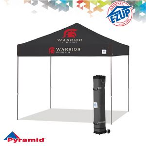 Pyramid 10 x 10 Multi Color Print Tent w/ Steel Frame