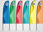 ProFlag™ 11' Slim Blade Flag with Folding Base, Pole, & Storage Bag
