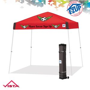 Vista 10 x 10 Multi Color Print Tent w/ Steel Frame