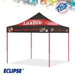 Custom Eclipse 10' x 10' Digital Print Professional Tent w/ Aluminum Frame