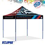 Custom Eclipse 10' x 10' Full Bleed Digital Professional Tent w/ Steel Frame