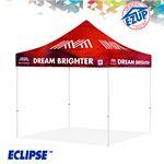 Custom Eclipse 8' x 8' Digital Print Professional Tent w/ Steel Frame