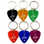 Custom Guitar Pick Key Chain