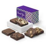 Custom Fairytale Brownie Thank You 1/2 Dozen In Treasure Box