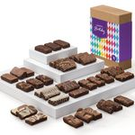 Custom Fairytale Brownies Birthday Sprites 36 (Brown Box w/ Colorful Band)