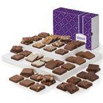 Custom Fairytale Brownie Extravaganza - 48 Piece (Purple/ Brown Box)