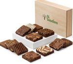 Custom Custom Wooden Box Brownie Dozen