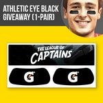 Athletic Eye Black Giveaway with Header (1 pair)