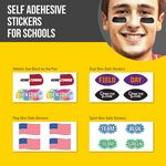 Skin Safe Cheek Stickers for Schools