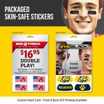 Fundraising Ideas With Loose or Packaged Skin Safe Cheek Stickers
