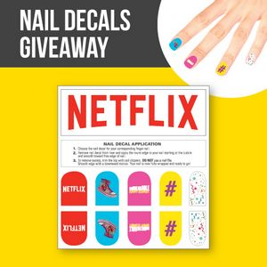 Promotional Product - Nail Decals, Giveaway with Custom Header