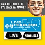 Custom Packaged Athletic Eye Black (1 pair) w/Magnet