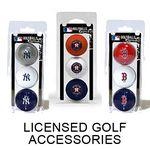 Custom Licensed Golf Balls 3 Pack