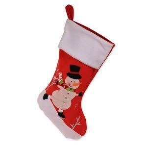Custom Ice Skating Snowman Christmas Stocking