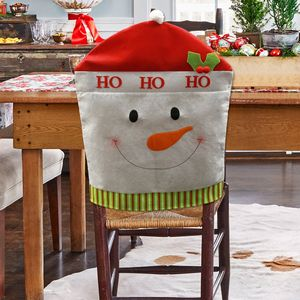 Dining Room Snowman Chair Cover