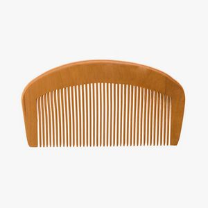 Custom Whiskers Natural Wood Comb