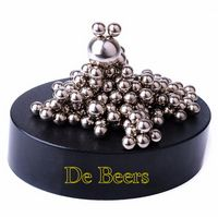 Magnetic Sculpture Desk Toy- 160 Stainless Balls