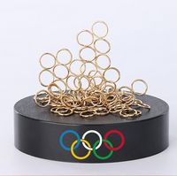Magnetic Sculpture Desk Toy- 80 Rings