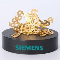 Magnetic Sculpture Desk Toy- 29 Small Gold Dollar Signs