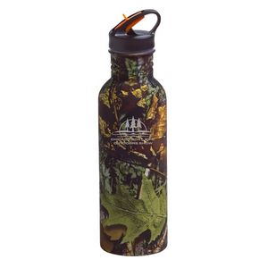 Custom Printed 25oz. Aluminum Camouflage Water Bottles!