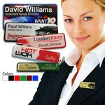 Custom Rectangular Prestige Name Badge w/Magnetic Fitting (2 15/16