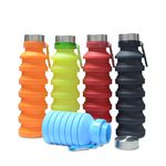 Custom Collapsible Silicone Bottle