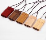 4GB Rectangular Shaped and Wooden USB 2.0 Flash Drive