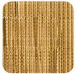 Custom Gold Vinyl Woven Rectangular Placemat (16