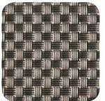 Custom Iron Gray Woven Rectangular Vinyl Placemat (16