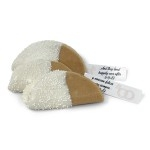 Hand-Dipped Fortune Taco Cookies (Decorated w/Custom Message)