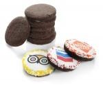 """Cocoa Dough 2"""" Round Sugar Cookie"""